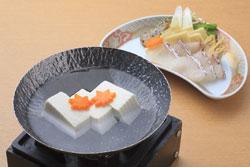 京ゆば豆腐満喫御膳プラン
