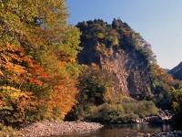 巌立峡の紅葉