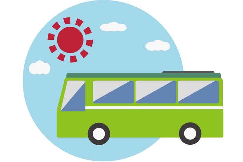 ◆送迎バス定期便のお知らせ◆