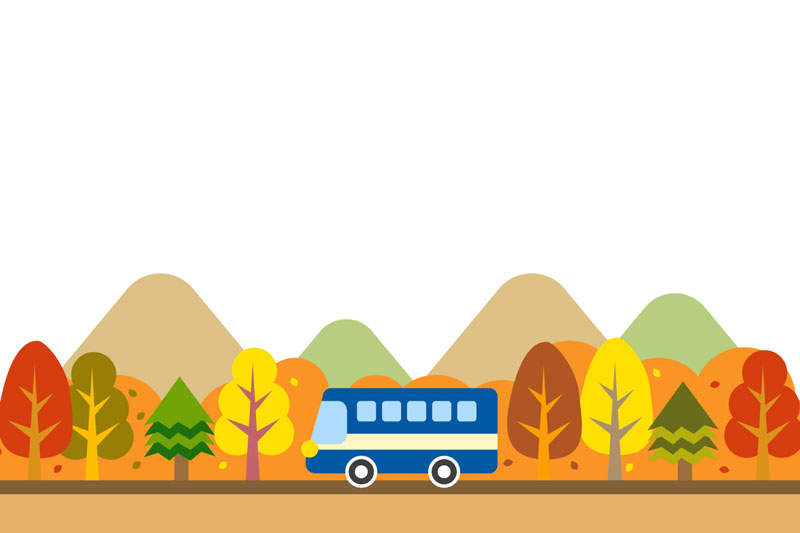 温泉街を巡る「ゆけむりバス」が運行♪