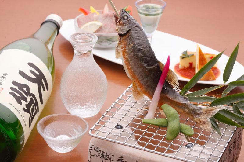 天然鮎と日本酒を味わう会