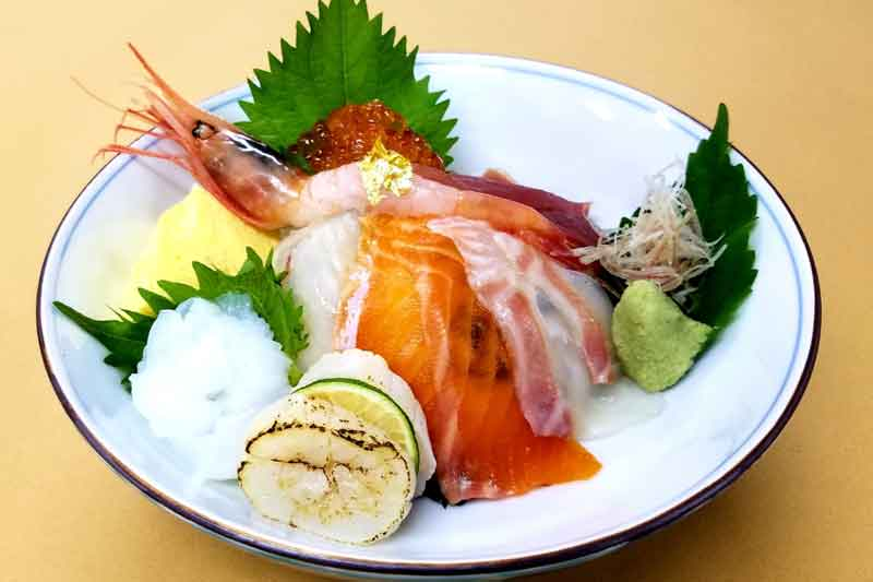 旬の海鮮丼 3,388円
