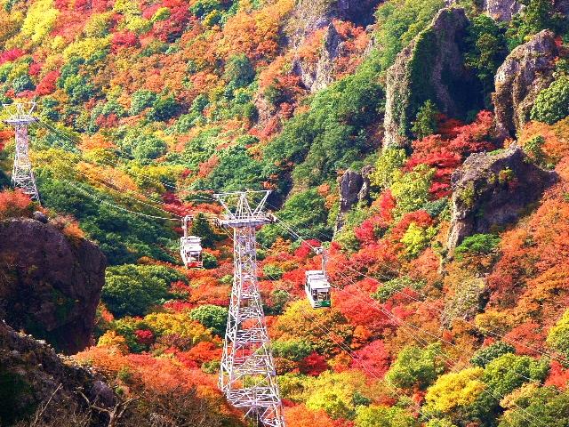 日本三大渓谷美のひとつ『寒霞渓』と瀬戸内の紅葉名所をめぐる3日間