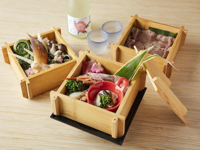 季節の食材を味わう★ 14,900円~