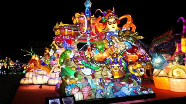 2019台湾ランタンフェスティバル鑑賞 台湾4日間の旅