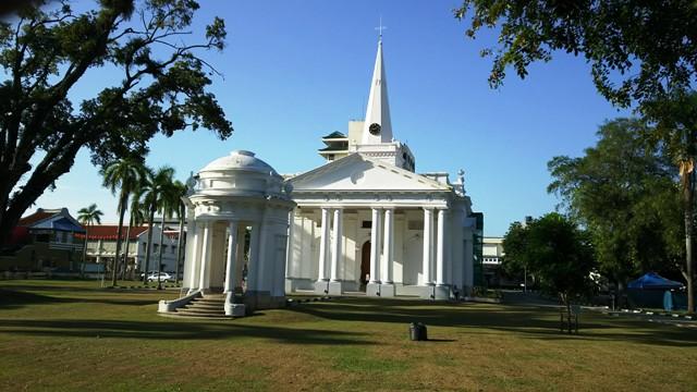 ペナン島セントジョージ教会