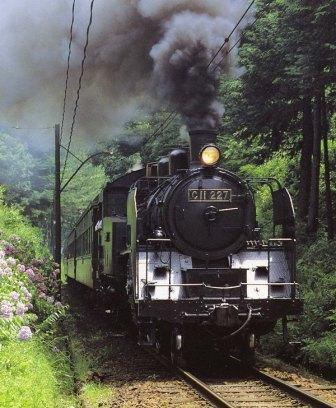 大井川鉄道SL列車